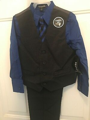 boys 4 piece suit size 6