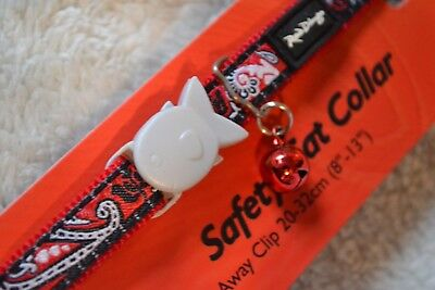 Collier Fantaisie Chat RED DINGO Bandana rouge