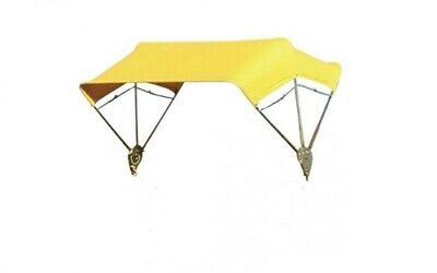 "Tractor & Mower Umbrella Buggy Top 3 Bow 40"" Frame & Yellow Cover"