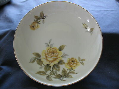 7 Harmony House Yellow Rose Fine China Fruit/Desert Bowl 5.5 inch