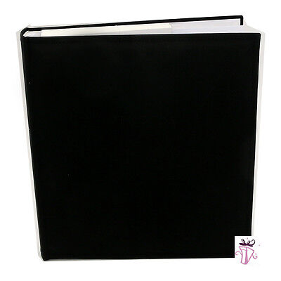 Black 500 4x6in (10x15cm)  Slip In Jumbo Large Archival photo album