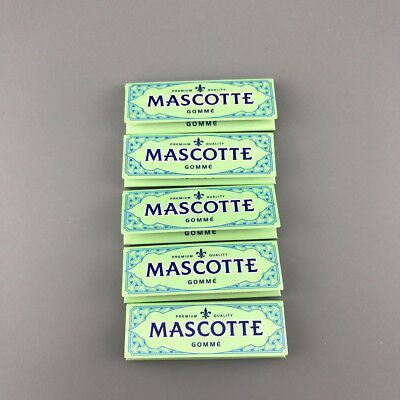 MASCOTTE Size 70mm 5 Booklets(X 50 Leaves) Handroll Smoking Rolling Papers