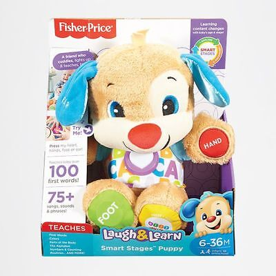NEW Fisher-Price Laugh & Learn Smart Stages™ Puppy
