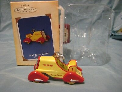 NEW Hallmark Keepsake Ornament 1935 Timmy Racer Kiddie Car Classics W/Box