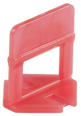 "Raimondi Tile Leveling System 1/8"" Red Clips ~ 250 thru 2000 pieces ~"