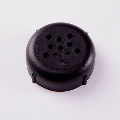 Cheese Shaker Tops-Plastic- Rust & Dent Free Forever Lids (12 Count) Black 244B