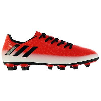 adidas Messi 16.4 FG Firm Ground Football Boots Mens Rd/Blk/Wht Soccer Shoes