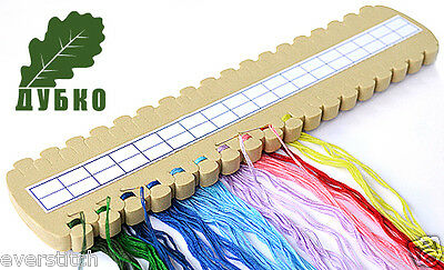 DUBKO A300 Soft embroidery organizer, 36 colors