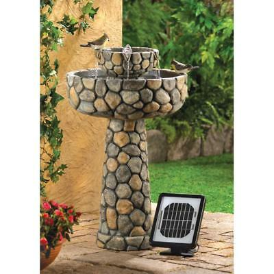 Wishing Well Solar Outdoor Water Fountain For Sale & Pump, Garden Fountain Decor