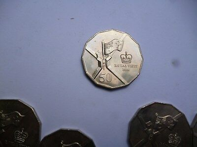2000 50 cent coin Royal Visit  UNCIRCULATED