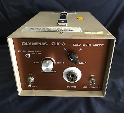 Olympus Endoscopy CLK-3 Cold Light Source Supply