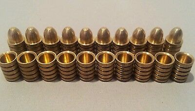 10 x 8mm Brass Alignment Dowels for Model Railway Baseboard Construction