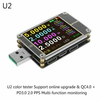 WEB-U2 USB Current / Voltage Meter QC4+ PD3.0 2.0 PPS Fast Charge Protocol Test