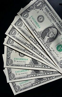 2006 $1 United States Banknote - 10 x Consecutive Unc.....