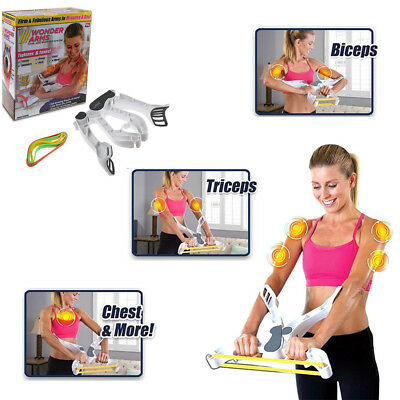 Wonder Arms Upper Body Arm Workout Fitness Strength Training Tool As Seen On TV