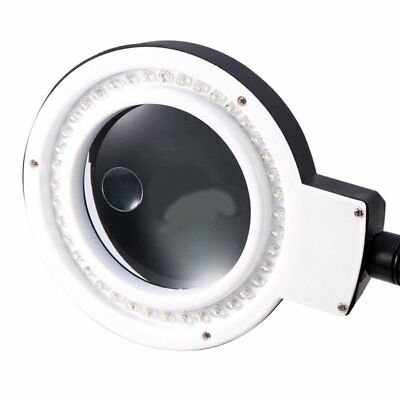 Magnifying Lamp 5 Inch Smd 5 Diopter Magnifier Desk Clamp