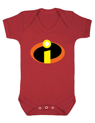 The Incredibles Red Jack Jack Cosplay Costume funny gift Baby Grow Vest