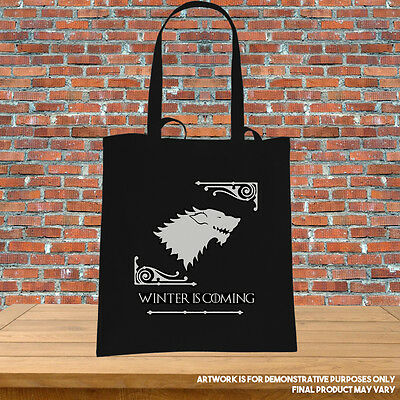 Printed Tote Bag Game of Thrones Choose your House Lannister Stark Baratheon