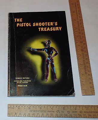The PISTOL SHOOTER'S TREASURY - Second Edition - illustrated paperback BOOK