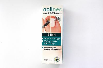 Nailner 2 In 1 Brush Against Fungal Nail Infection - 1 Nail Fungus Brush