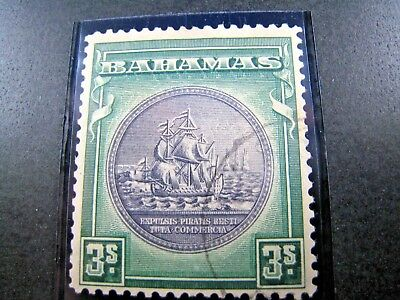 BAHAMAS SCOTT #91a - 1946  F/USED     (apsB26)