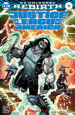 Justice League Of America #13 (2017) 1St Print Variant Cover Dc Universe Rebirth