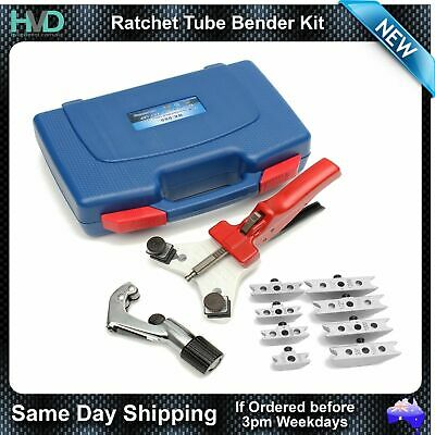 "Tube Bender - Hand Held with Multiple Size Forming Dies 1/4"" to 1/2"" - HVAC/R"