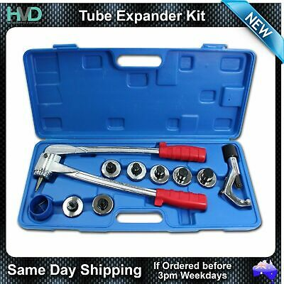 """Tube Expander kit - Multiple Sizes  3/8"""" to 1-1/8"""" Swaging Heads - Tube Cutter"""