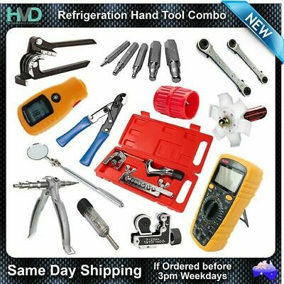 Refrigeration Hand Tools Package - Tube Bender, Expander, Multimeter, Flaring++