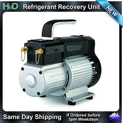 Refrigerant Recovery Reclaim Unit System R134a - R410a Capable HVAC Tools