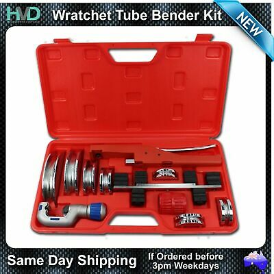 "Ratchet Tube Bender - Multiple Size Crossbow Type bender with 1/4"" to 7/8"" Dies"