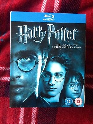 Harry Potter Complete 8 Film Collection (Blu-ray, 2011, 11-Disc Set, Box Set)