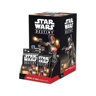 Star Wars Destiny EMPIRE AT WAR Box PRIORITY SHIP 3 BUSINESS DAY OR LESS INSTOCK