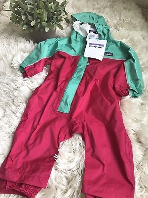 NWT Patagonia H2No Infant Rain One Piece Suit
