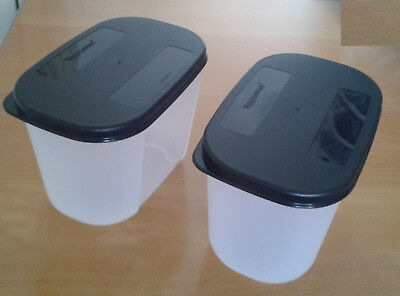 Tupperware Freezer Container 2 Set - 1 1/4 Cup Capacity Each - New