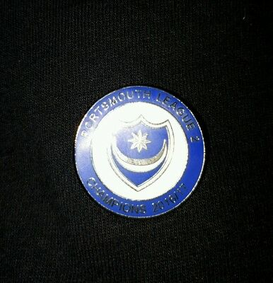Portsmouth FC League 2 Champions 2016/17 Pin Badge