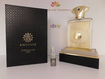 Decant 2ml Amouage - Jubilation XXV For Men The Best Price Guaranteed!