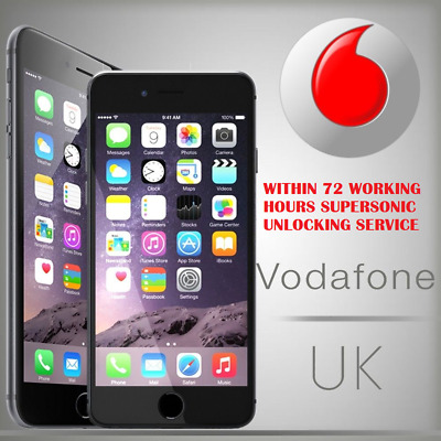 Vodafone Apple IPhone 7 or 7+ Official Factory Unlocking Service