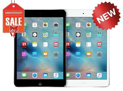 NEW Apple iPad Mini 2 16GB,32GB,64GB,128GB Wi-Fi + 4G Cellular Tablet