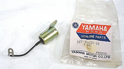 1977 77 Yamaha XS750 XS750-2 Triple OEM Ignition Condenser (1) NOS 1J7-81625-10