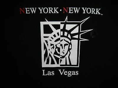 New York New York Las Vegas Hotel Casino Tshirt Statue Of Liberty Face  Sz L Nwt