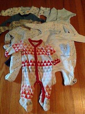 Gender neutral baby infant romper lot size 0-3 month