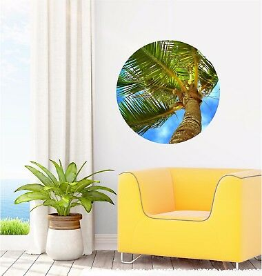 Palm Tree Wall Decal Vinyl South Pacific Beach