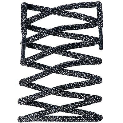 Yeezy V2 Replacement Rope Laces Zebra Black & White Fits NMD | Ultra Boost | XR1