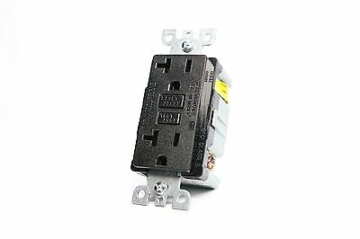 20A Gfci Safety Outlet 2008 Ul - Black