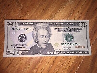 Collectible Lot of Federal Reserve Notes-Star Serials-$1, $5, $10, & Two $20s!
