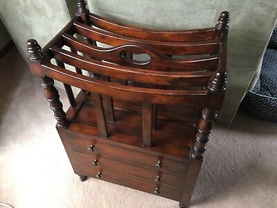 Antique magazine rack with drawers in great condition pick up Rowville