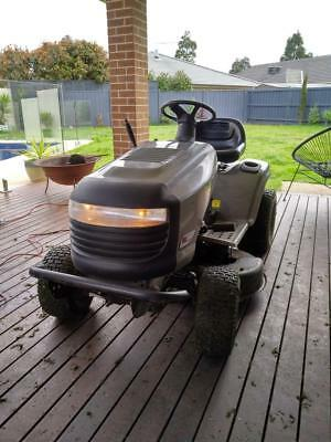 Ride on Mower - AS NEW - 50 Hours only - Briggs & Stratton 17.5HP Electric Start