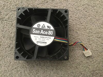 San Ace 80 12v DC 0.58A fan