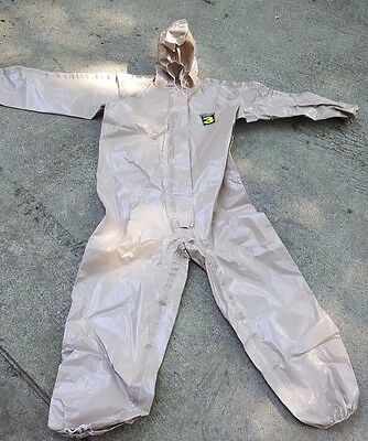 KAPPLER System CPF 3 Hazmat Protective Suit / Coverall Small